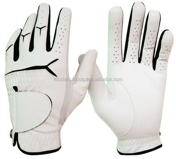 Hot sale great quality cabretta leather golf glove