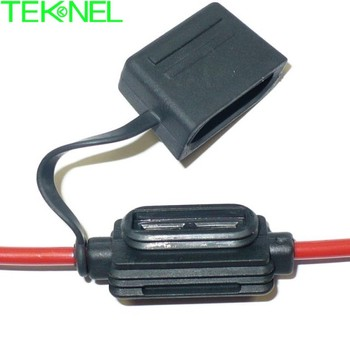 In-line 20A automotive & truck cable waterproof fuse holder