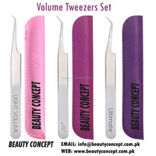 45 Degree Angled Tweezer with Soft Grip & Available in German Steel