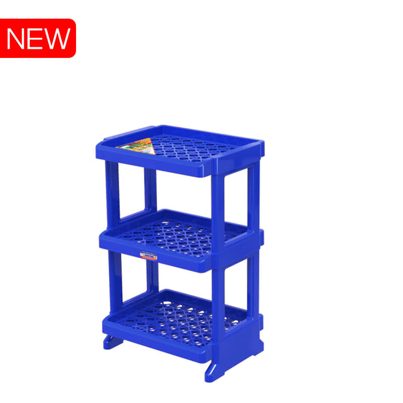 Classical plastic shelf for canister