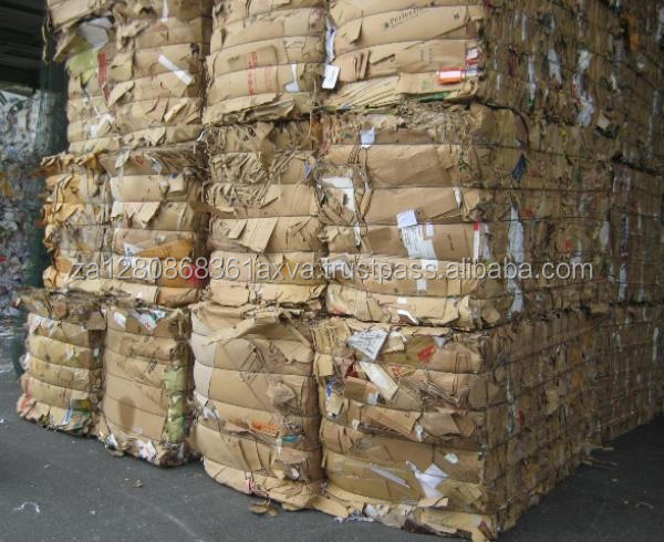 Waste Old Corrugated Containers, occ paper scrap, waste cartons scrap.