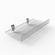 Slat grid wall shoes display wire <strong>shelf</strong>
