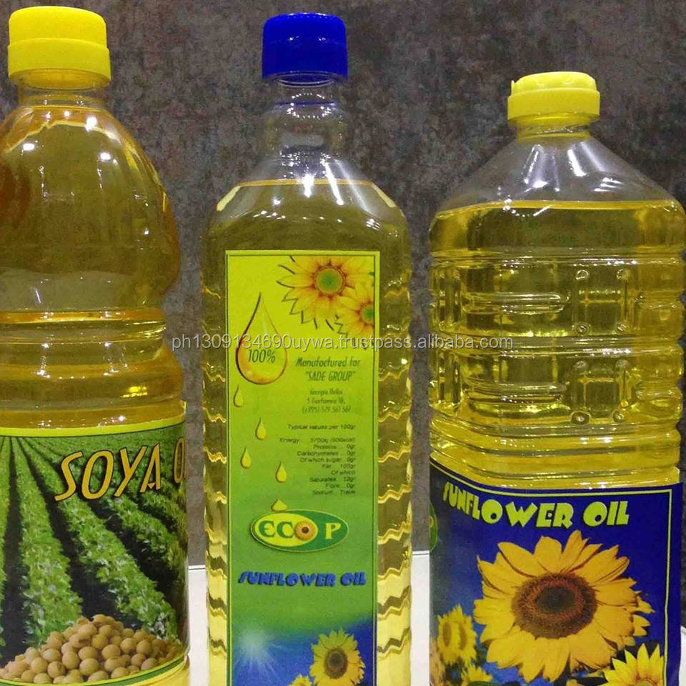 Refined Sunflower Oil, Corn Oil, Soybean Oil, l--1L, 2L, 3L, 5L, 10L Pet Bottle