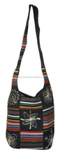 Indian Designer Patchwork Embroidered Hand Bag hippie Sling Crossbody Walking shoulder bags