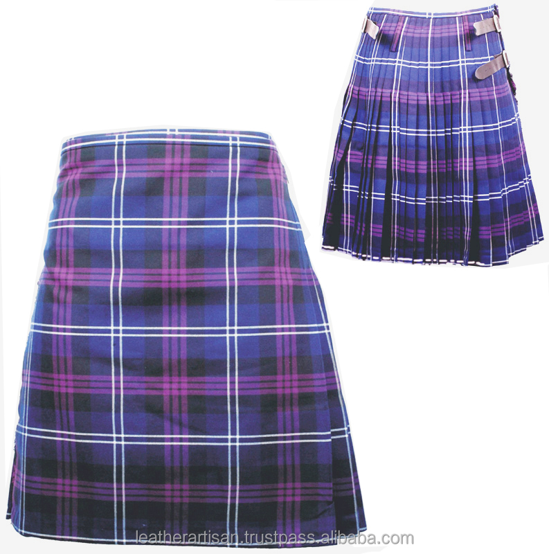Truly Scottish 8 Yard Men Kilt Acrylic wool tartan material and OEM Service Supply Type kilt and accessories