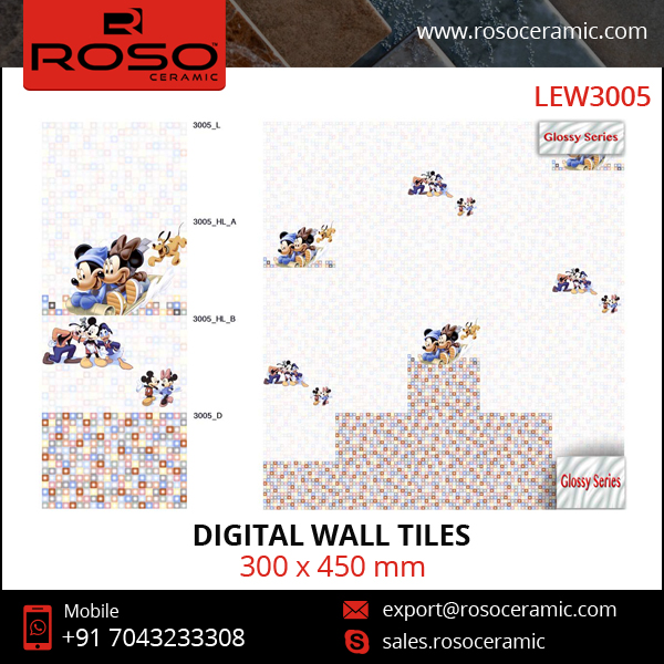 World Wide Selling Most Demanded Digital Wall Tiles