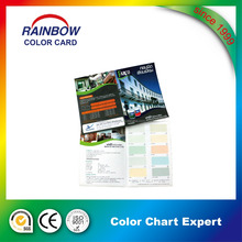 paint color shade cards