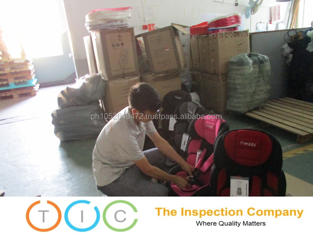 Third Party Inspection in Vietnam for Baby car seat