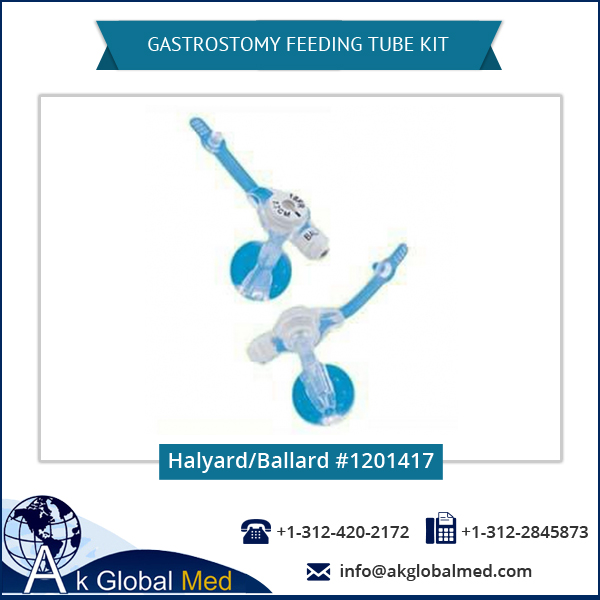 Halyard/Ballard 1201417 Percutaneous Endoscopic Gastrostomy Feeding Tube/Kit