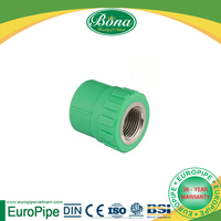[EUROPIPE]BS EN ISO 15874 PPR female thread flange adapter and full set of pipe and adaptor pp fitting for sale