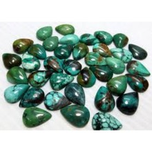 Mix Shapes Stabilized Turquoise Cabochon