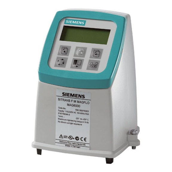 SITRANS F M Transmitter 7ME6920 series for flowsensor Siemens