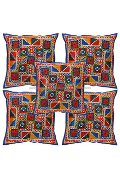 Wholesale Indian Hand Embroidered Cushion Covers