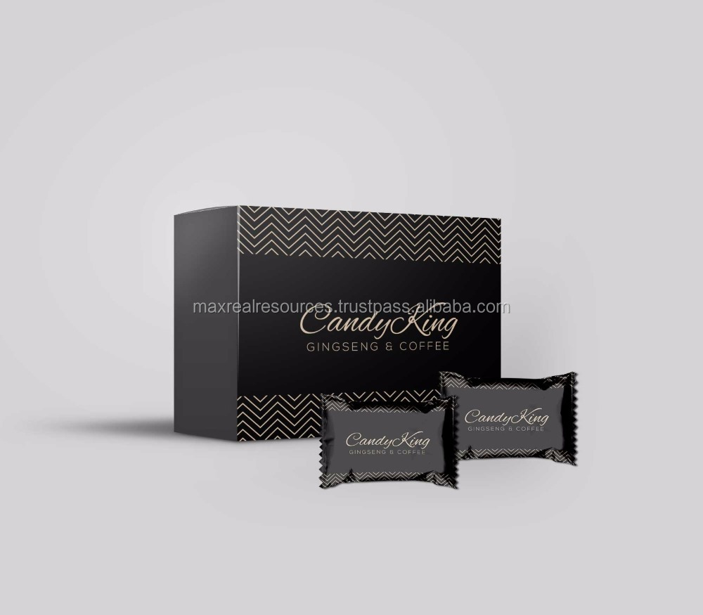 Men Candy OEM coffee ginseng candy Made in Malaysia