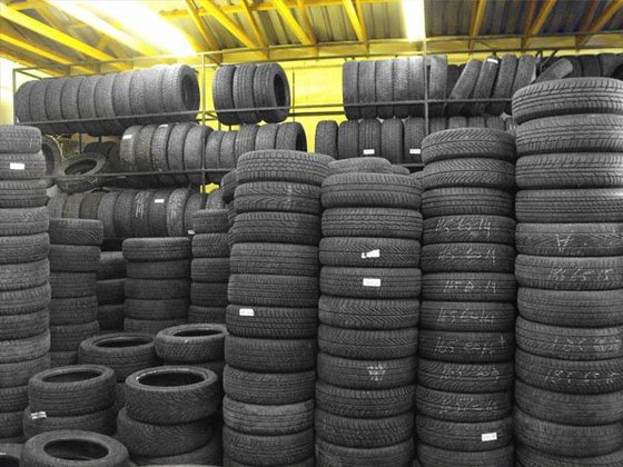 Used Trucks and Car Passenger Tyres