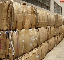 Low price OCC Waste Paper in Bales FOR SALE (100% Cardboard)