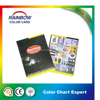 Customized painting color card
