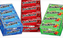 Trident Gum - TRIDENT VALUE PACK 12x12