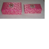 Brocade fabric covered boxes in assorted sizes for weddings, chocolate packaging,