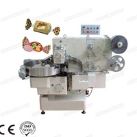 Candy Package Chocolate Double Twist Wrapping Machine