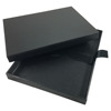 Black Cardboard Mailing Box For Wedding Invitations