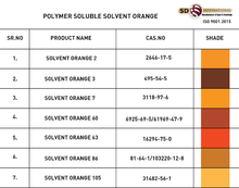 SOLVENT ORANGE 7 DYESSTUFF FOR PLASTIC MASTERBATCH PAINT INK PETROLEUM SMOKE OIL WAX 3118-97-6