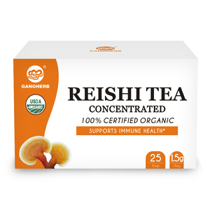 Ganoderma Reishi Mushroom Concentrated Tea Lingzhi Detox Tea Improve Immunity and Prolong Life