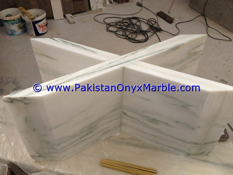 Modern Elegant Design marble table bases for dining office coffee corner sides tables
