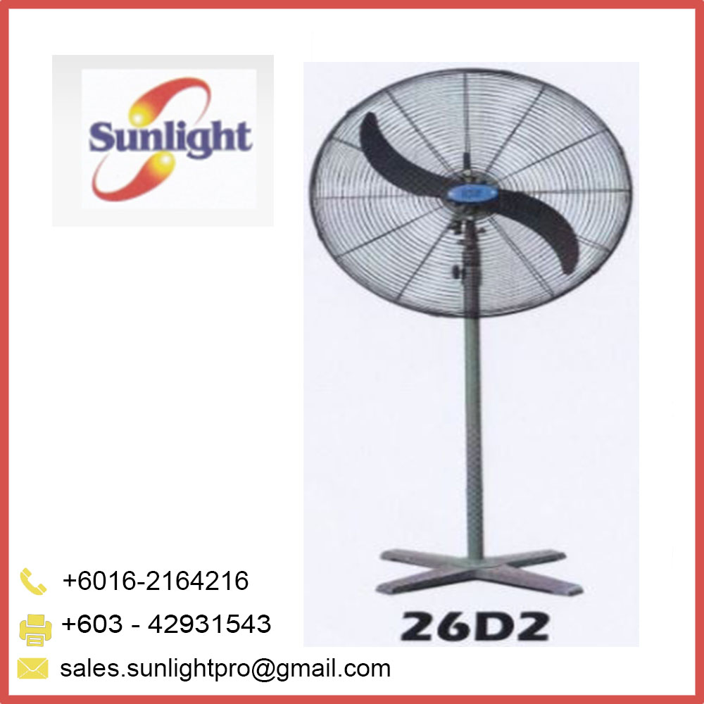 "26"" High quality Industrial stand fan from Malaysia"