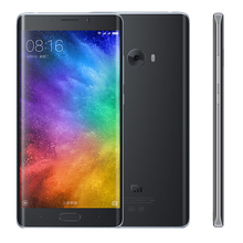 "Original Xiaomi Mi Note 2 6GB RAM 64GB ROM Mobile Phone Dual Snapdragon 821 3D Curved Glass 5.7"" 22.56MP Camera Flexible Display"