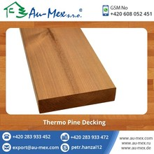 Thermo Pine Treated Hard Wood for Decking and Outdoor Flooring