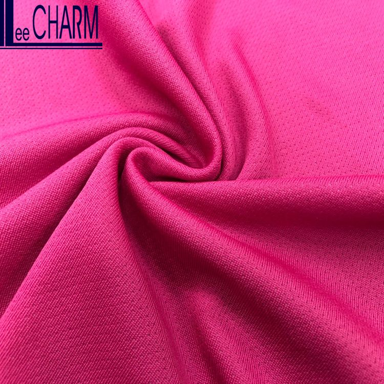 LCTO004 Taiwan Breathable Polyester Polypropylene Blend Knitted Fabric