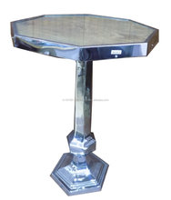 Metal Stand with Wooden Top large Coffee Table