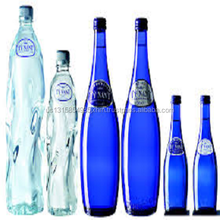 natural mineral water (BLUE GLASS)