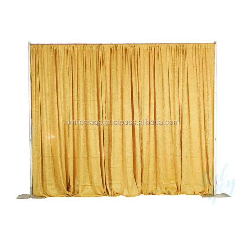 2018 photo booth supplies wedding ceiling drape pipe and drape kits