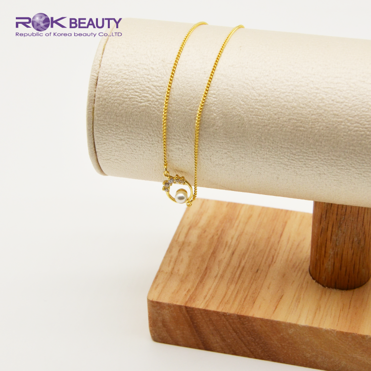 PSB 1-8 ROK BEAUTY JEWELRY 18K GOLD PLATING WOMEN BRACELETS