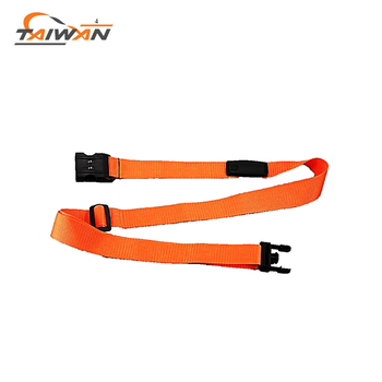 polyester PP safety buckle travel luggage strap