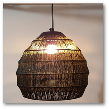 Bamboo hanging lams Hanging Lamp Light Glass Pendent Light Hanging Lamp Shade Chandelier Light Hanging Roof Lamp