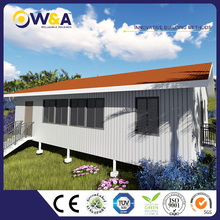 (WAS2504-100D) The New Design Prefabricated Concrete Houses /Steel Modular House Manufacturer For Sales