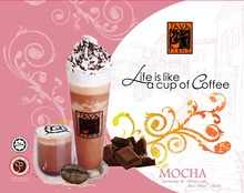 Wholesale Best Selling Premix Mocha Coffee powder from Malaysia