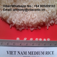 VIETNAM SHORT GRAIN WHITE RICE BRAND