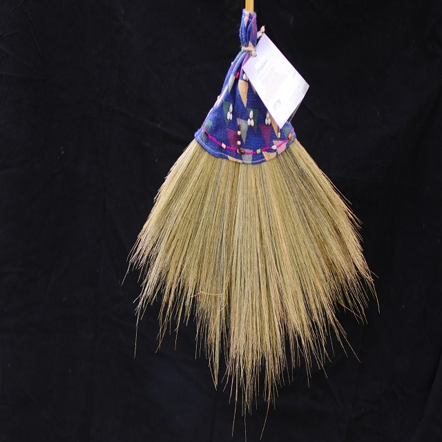 Ban Maelao broom and product cover make from karen Weaved cloth in Thailand