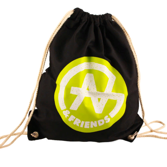 Stocklot Sale Westford Mill with 'A & Friends' logo Gym Bags