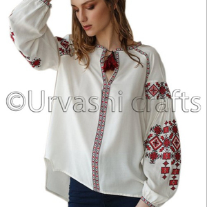Very Cheap Factory Price Clothing 2018 Women Clothing Newest Designs Embroidery Ukrainian Blouses