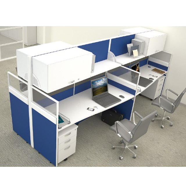 "modern office workstation 30mm + 60mm thickness ""P-series"" Office table"