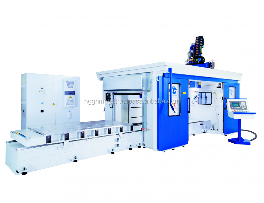5-axis Gantry Milling System G-S-F is the generic machine for plastic processing