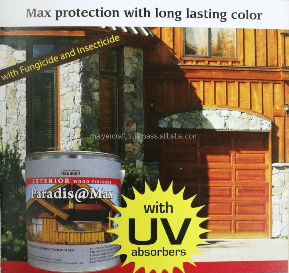 Haussen Paradis @Max+ DeckOil @Seal /@Top Wood Coating, Wood Protection and Finishes