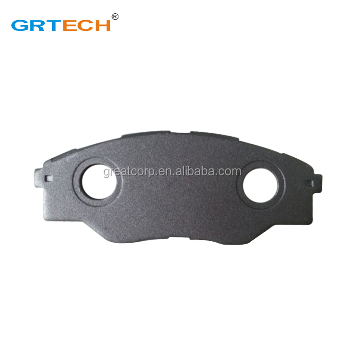 D1523 front disc brake pad back plate for toyot a hilux