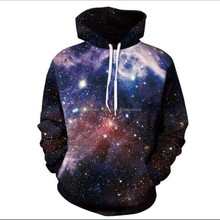 Custom made Sweatshirts Men Sublimation Hoodies With Hat Print Stars