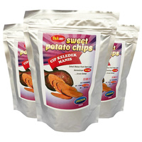 SWEET POTATO VACUUM FRIED CHIPS under TROPICAL MALAYSIA FRUITS and 100% Nature